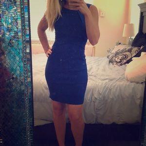 TeezeMe Cobalt Blue Professional Work Dress - Sz 3